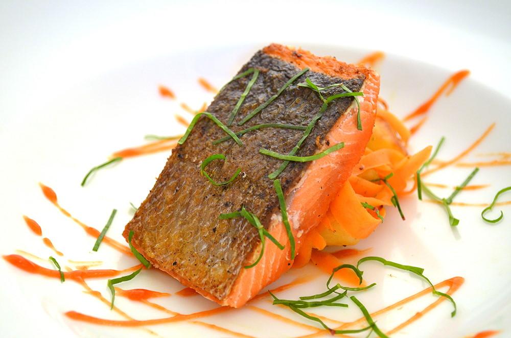 McCarthy Lodge salmon