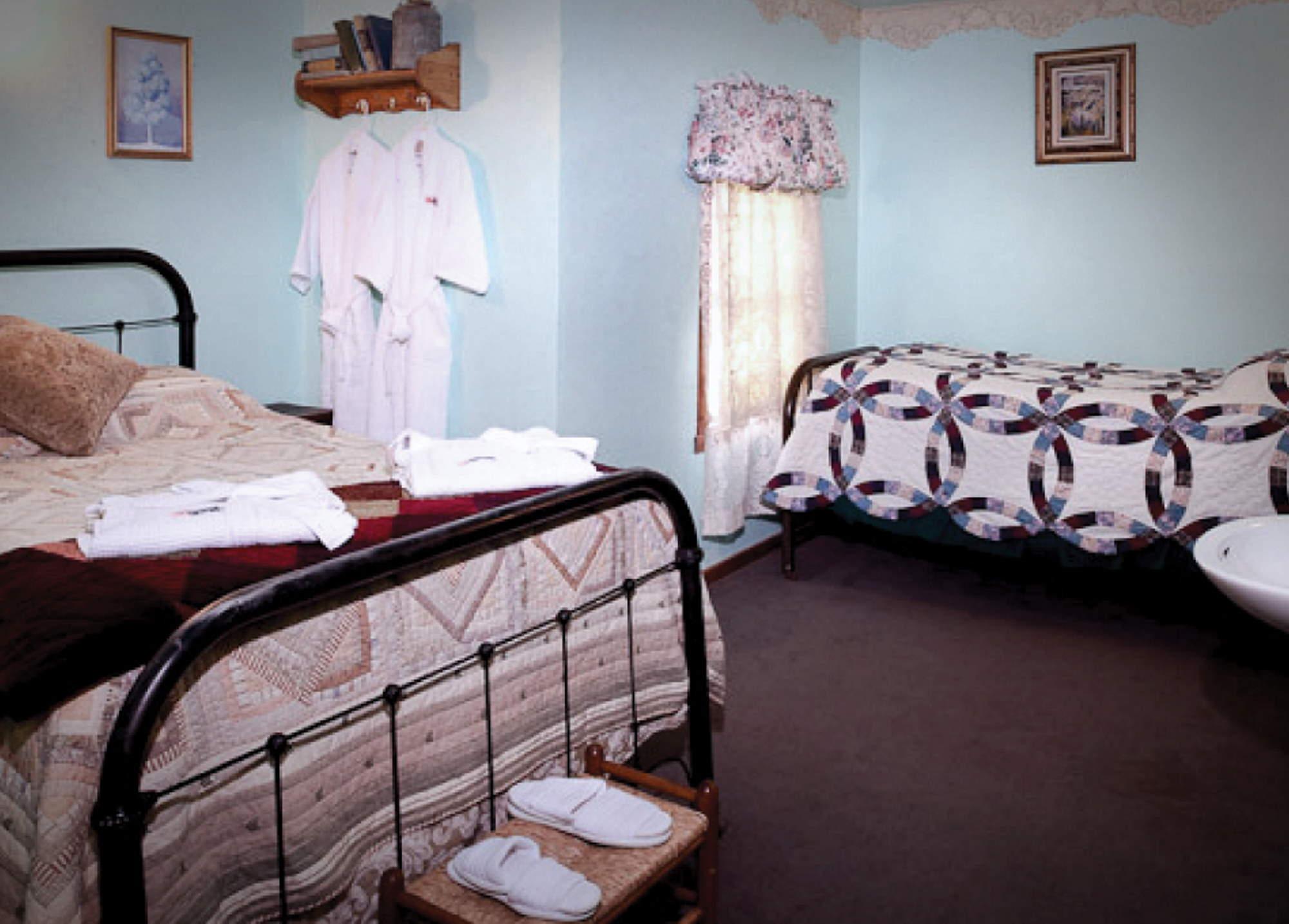 Interior of Ma Johnson's Hotel room