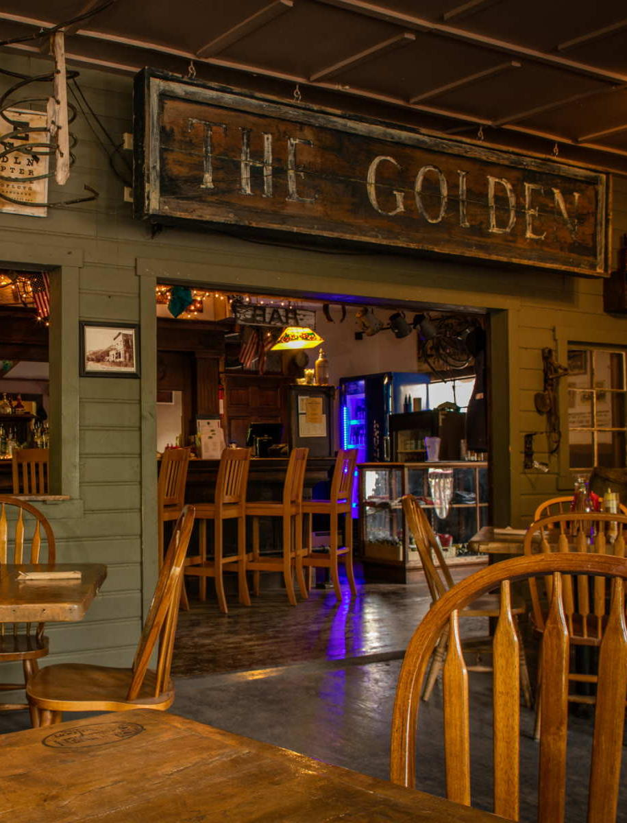 Interior of Golden Saloon