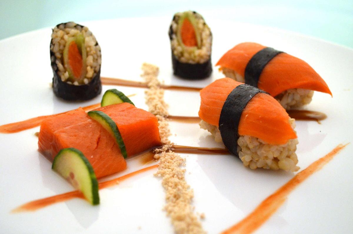 McCarthy Lodge sashimi